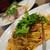イタリア厨房 ベルパエーゼ - ぷりぷり海老とベーコンのペペロンチーノ