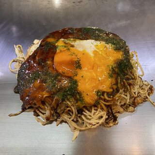 やまさ家 - 料理写真:肉玉そば790円。麺Wで(プラス130円)