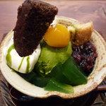 Mamezo&Cafe - ☆お抹茶パフェ(^v^)☆