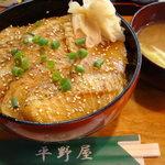 寿し処 平野屋 - お勧め、炙り銀カレイ丼