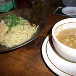 希望軒 - 醤油つけ麺(熱麺) 780円