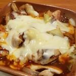 てっぱん侍 - 辛味噌チキンのチーズ焼き