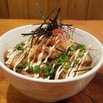 てっぱん侍 - 炙りチャーシューキムチマヨ丼