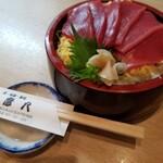 彦八 - 鉄火丼1500円テイクアウトできます