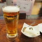 ダイニングステージ 佐海屋 - 生ビール & 出来たて豆腐