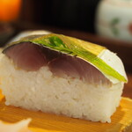 ダイニングステージ 佐海屋 - 真鯖 棒寿司