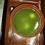 Sofutokoubou - 白玉抹茶ぜんざい