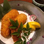 海鮮個室居酒屋 かぶと  - カキフライ&カニクリームコロッケ