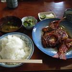 さかな - 金目鯛煮つけ定食(\2000)