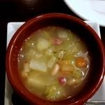 12921306 - 自家製ベーコンの田舎風スープ