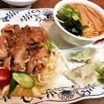 晴山閣 - 日替わり定食(おかず部)