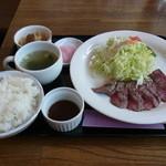 キッチン&カフェ ベル - オーストリッチミートフィレ肉たたき