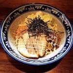 麺や樽座 - ガッツ麺(汁なし油そば)