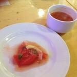 ドラフトキング - ランチ 前菜とスープ