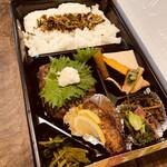 串揚げ 串坊主 - 日替り弁当1000円