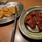 はま屋 - 料理写真:上ミノとジンギスカン