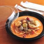 かしの木 - 料理写真:テイクアウトパスタ、シーフードトマトクリーム