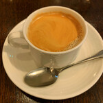 グリル満天星 麻布十番 - 食後のカフェ