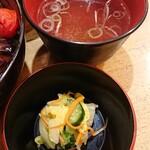 溜池 酉玉 - 漬け物&スープ
