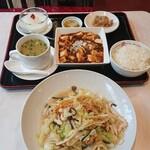 寶來軒 - ランチと鶏皿うどん