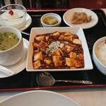 寶來軒 - ランチ(麻婆豆腐)