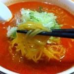 龍月館 - 麺アップ!