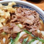 釜たけ流 うめだ製麺所 - 肉とカレー出汁との味相性が良かったです。