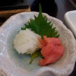 和食レストランとんでん - 大根おろしとたらこ