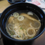 和食レストランとんでん - 味噌汁