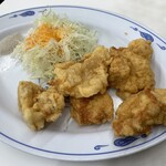 餃子の王将 - 鶏の唐揚げ(2020,3)