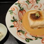 徳 うち山 - ごま豆腐とゆば