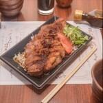 豚料理専門店 銀呈 - TakeOut ロースステーキ240g弁当