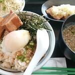 ねぎ塩チャーシュー丼 水喜 - 料理写真:ねぎ塩チャ-シュ-丼