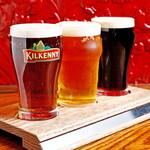 マンインザムーン - 迷った時は、世界のビールを楽しめる飲み比べセットがおすすめ♪