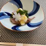 御料理 ひさまつ - 料理写真:富山県産ホタルイカのジュレがけ