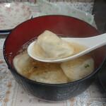 宝雲亭 - スープ餃子