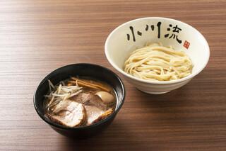 小川流 - つけ麺味玉Wちゃーしゅー