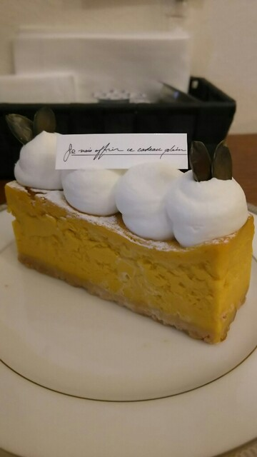 まるずcake - かぼちゃのチーズケーキ