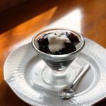 珈琲まめ坊 - コーヒーゼリー