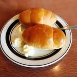 ステーキハウス源 - ロールパン