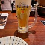 えびす鯛 - 生ビール