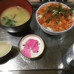 しみず食堂 - K兄が頼んだ海鮮丼(2020.3.23)