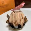 ラ・リヴィエ・ドゥ・サーブル - 料理写真:さくらのモンブラン