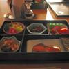 シーサイドホテル - 料理写真:朝食 塩鮭の塩辛さが本格的