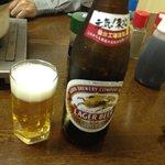ホルモン道場 - 瓶ビール