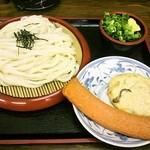 12930983 - ざるうどん(2玉) ・280円 と 天ぷら
