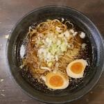 麦伸ぬーどる - 丸鶏醤油600円+煮玉子100円