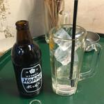 立飲み居酒屋ドラム缶 - ホッピーセット300円