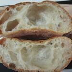 馬込 ブーランブーラン - フランスパン(断面)