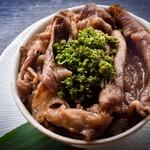 実山椒すき焼きご飯